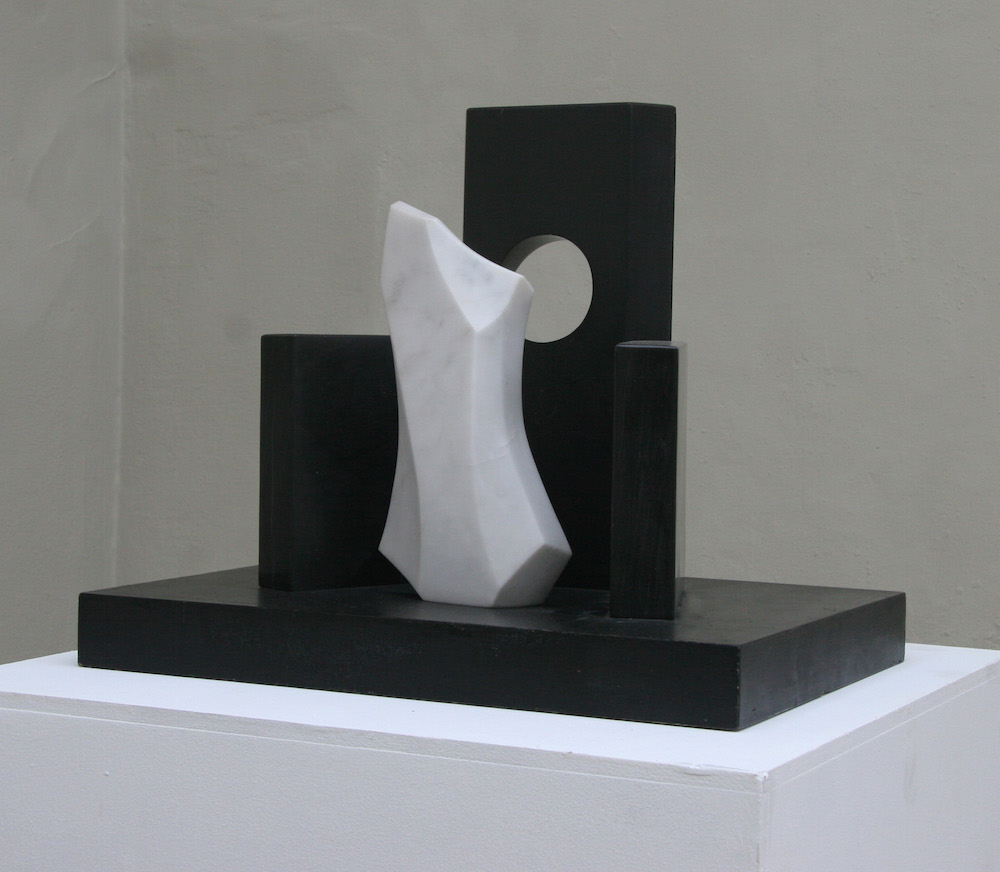 "Barbara Hepworth ""Sheltered Form,"" 1972. Courtesy of Hepworth Estate and Pace Gallery."
