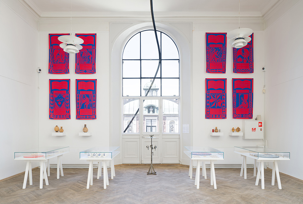 Afgang 2018, Albin Werle, 'Ten Spells for Humanity or A Poison Dart for the Ruling Class', 2018. Installation view. Photo: David Stjernholm.