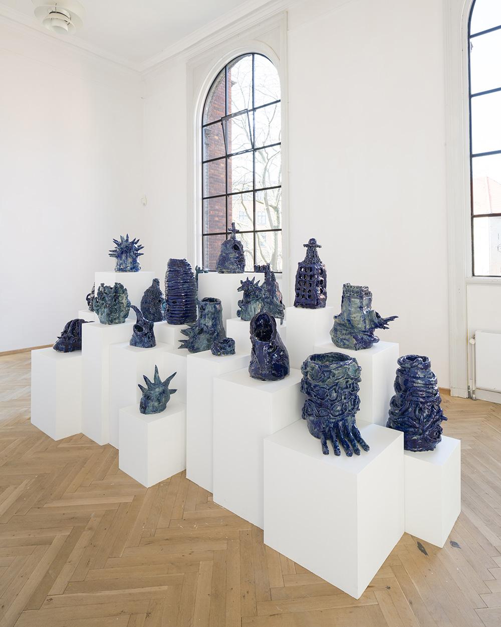 Afgang 2018, Frederik Næblerød, 'Alienated', 2018. Installation view, Kunsthal Charlottenborg, 2018. Photo: David Stjernholm.