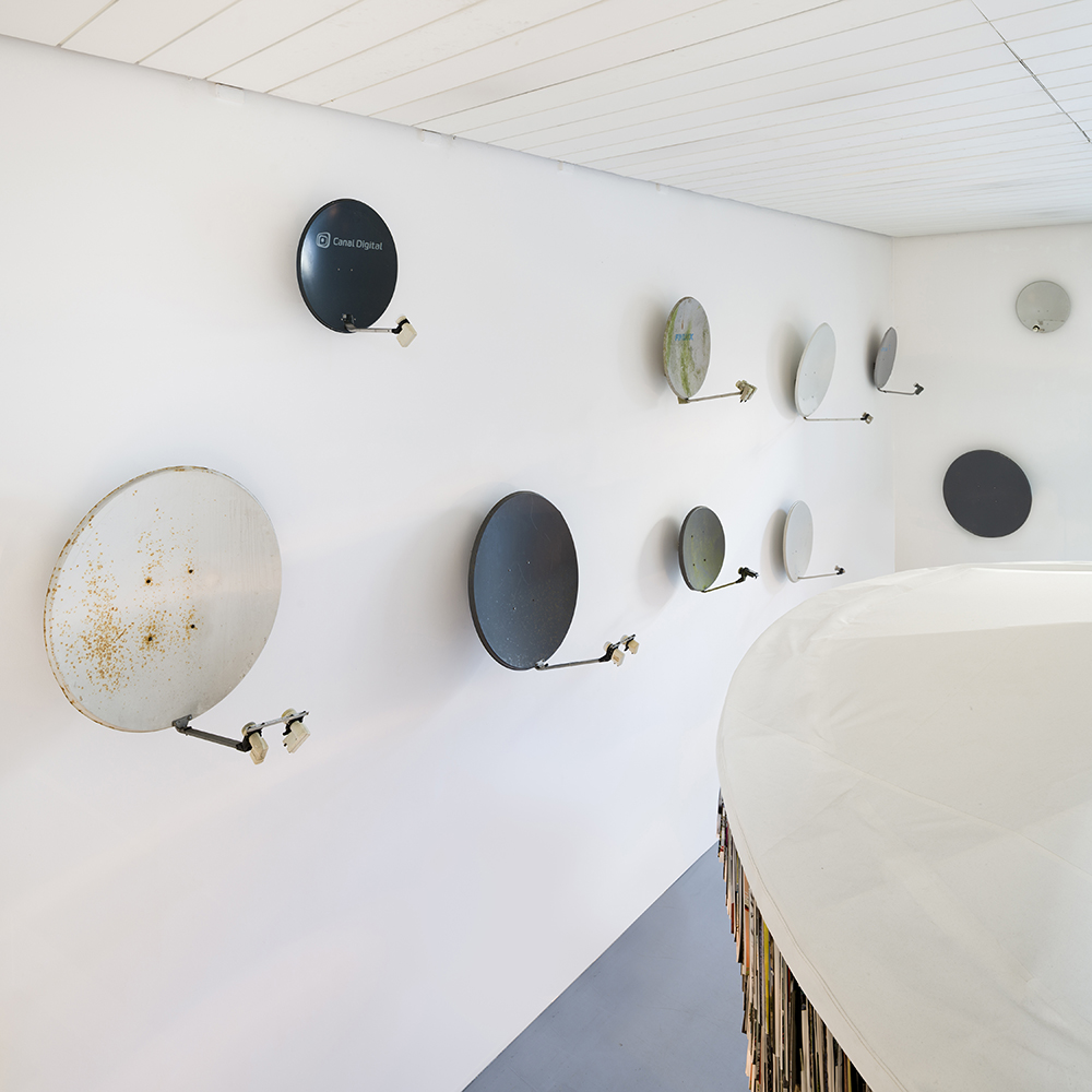 Afgang 2018, Banaan Al-Nasser, 'Bab al-Hara (The Neighbourhood's Gate)', 2018. Installation view, Kunsthal Charlottenborg, 2018. Photo: David Stjernholm.