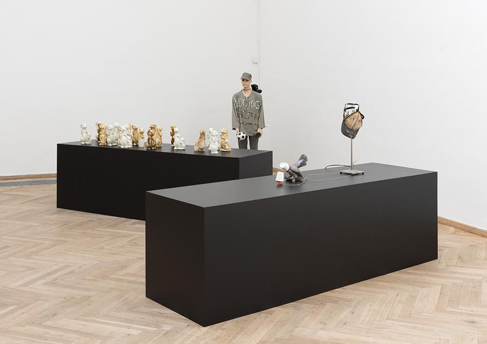 Afgang 2018, Frederik Worm, 'Enduring Innocence', 2018. Installation view, Kunsthal Charlottenborg, 2018. Photo: David Stjernholm.