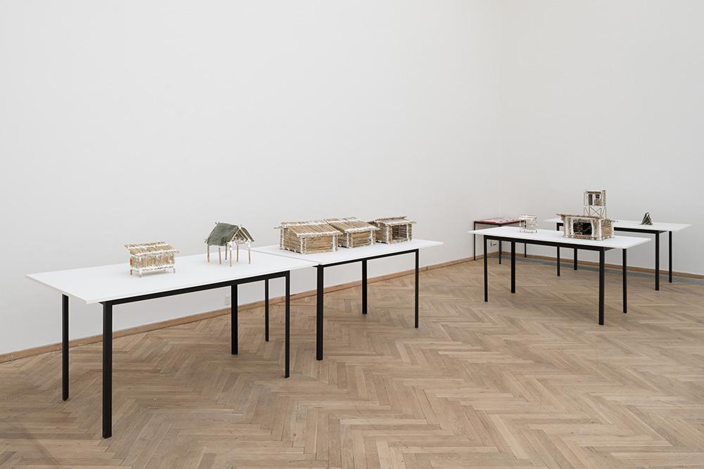 Afgang 2018, Sebastian Hedevang, 'Panda Politics', 2018. Installation view, Kunsthal Charlottenborg, 2018. Photo: David Stjernholm.