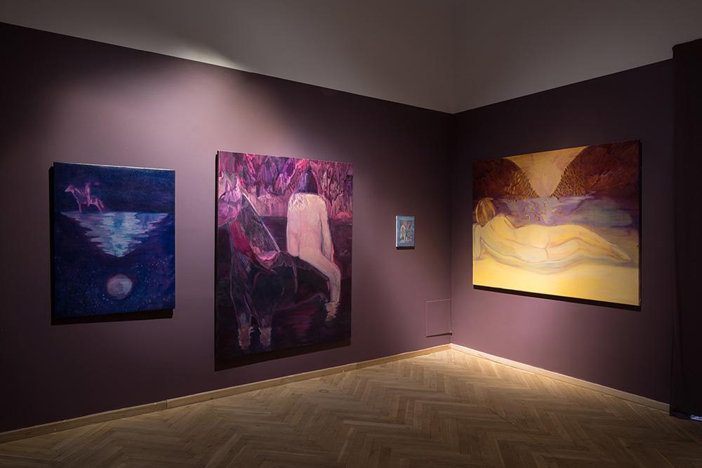 Afgang 2018, Kinga Bartis, 'Psychostasia', 2018. Installation view, Kunsthal Charlottenborg, 2018. Photo: David Stjernholm.