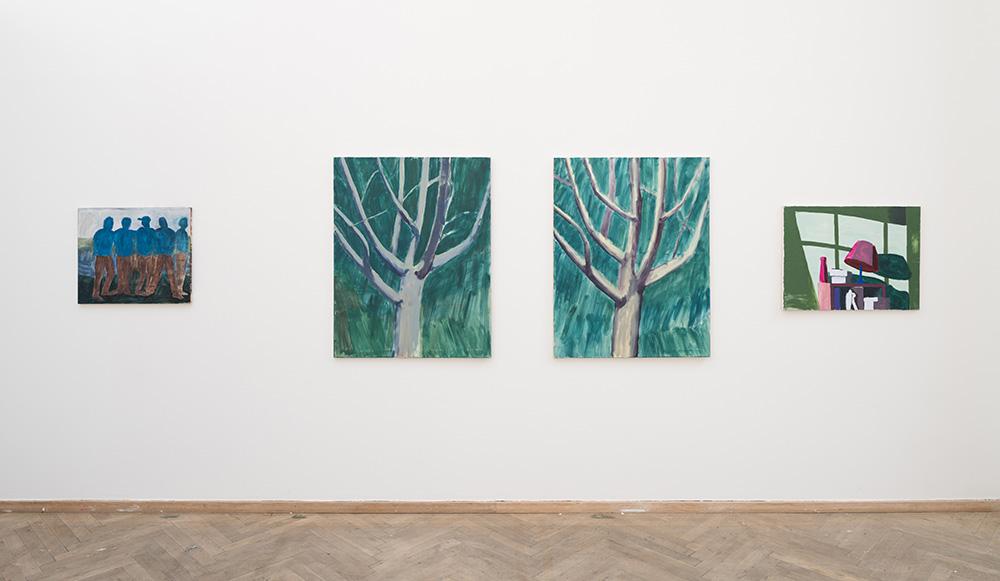 Afgang 2018, Stefan Plahn, 'Kbh marts april 18', 2018. Installation view, Kunsthal Charlottenborg, 2018. Photo: David Stjernholm.