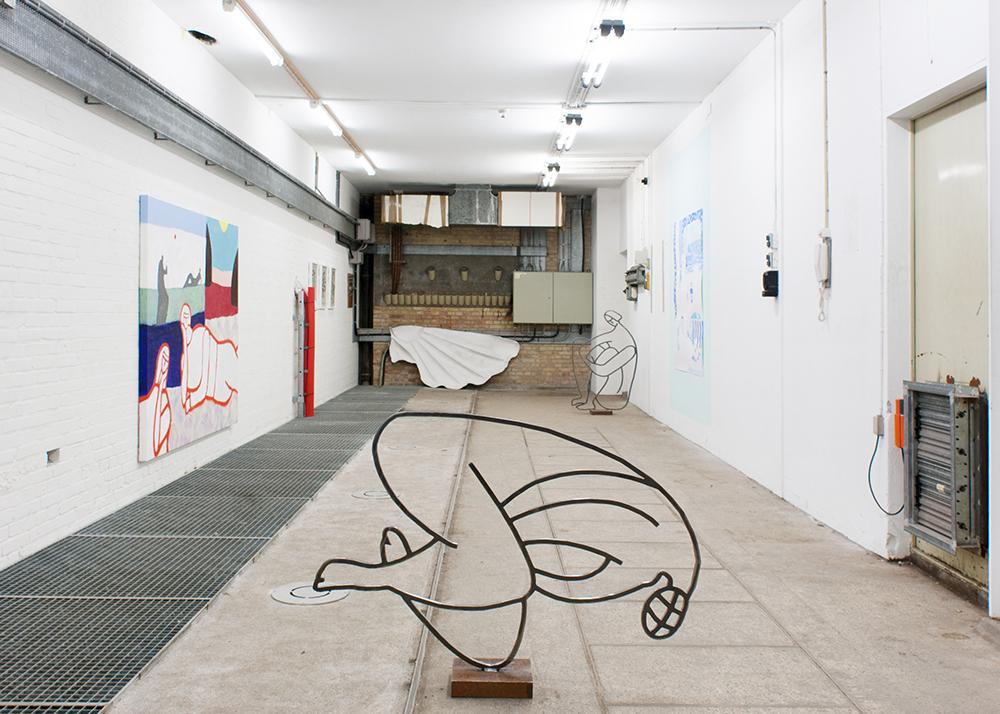 Ida Sønder Thorhauge (Carlsbergbyens Galleri og Kunstsalon, 2017). Foto: Jacob Friis-Holm Nielsen.