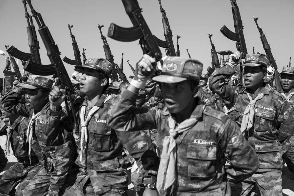 Kc Ortiz, SSA rebels in Shan State Burma.