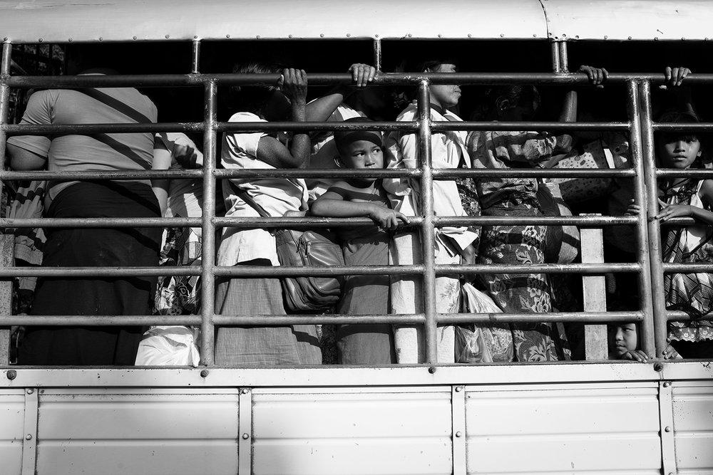 KC Ortiz, Young refugee monk fleeing fighting in Mywaddy Burma.