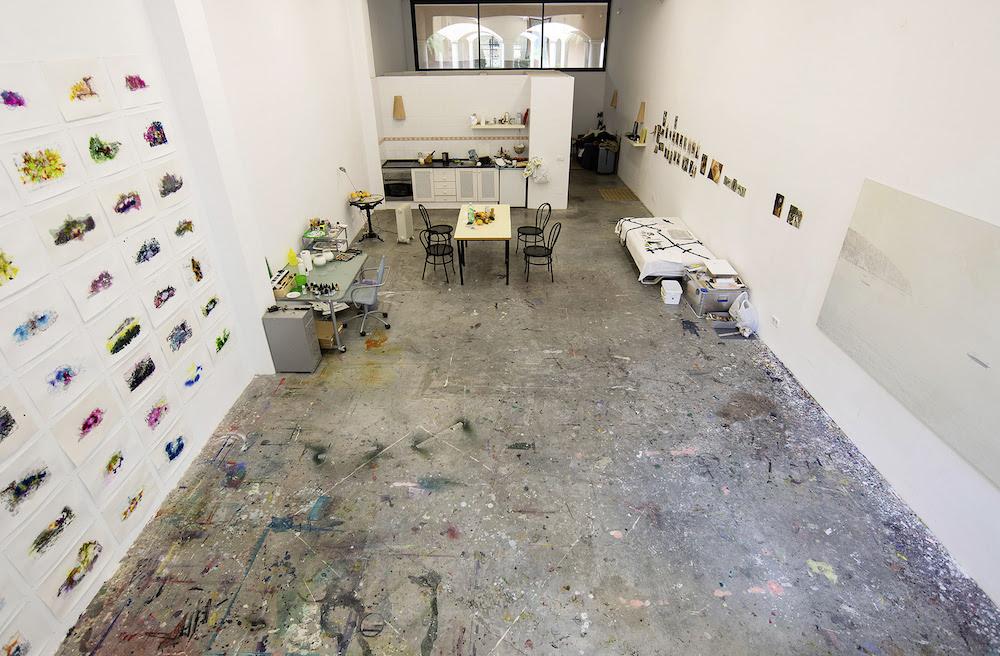 Atelier på CCA Andratx, Mallorca. Photo @ CCA Andratx