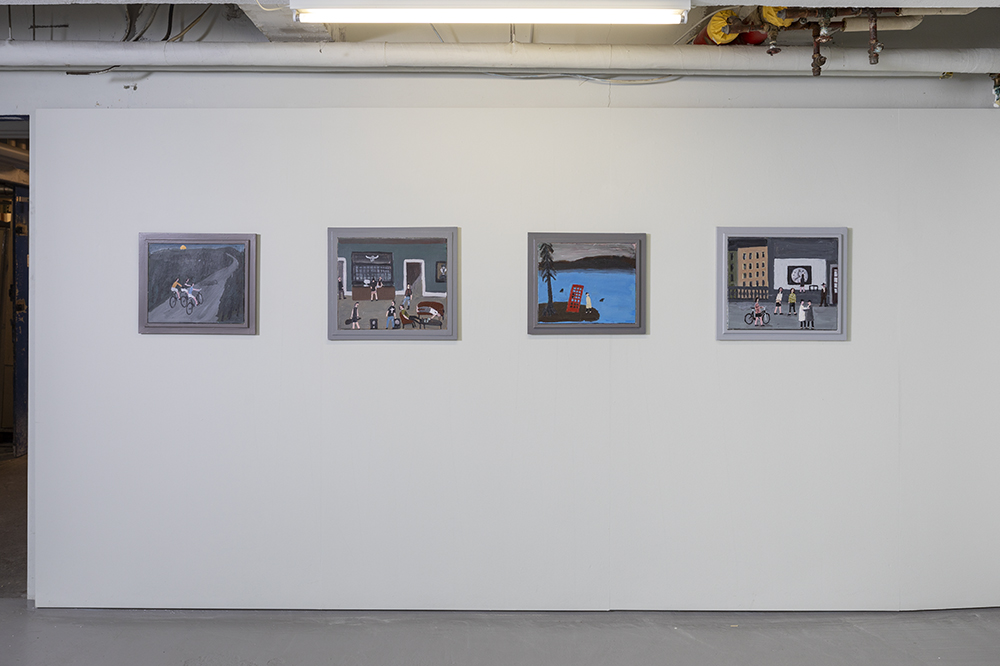 Kent Iwemyr, Poetry from the wilds. Installation view, V1 Gallery, 2018. Photo: Jan Søndergaard.