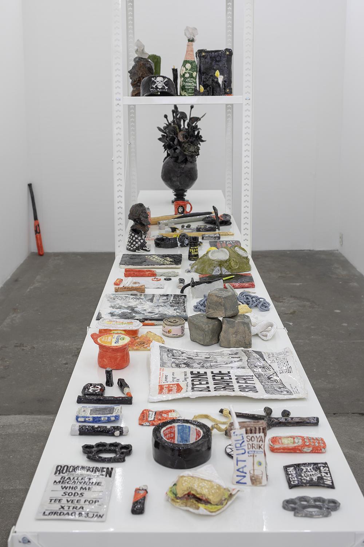 Rose Eken, Resistance. V1 Gallery, 2018. Photo: Jan Søndergaard.