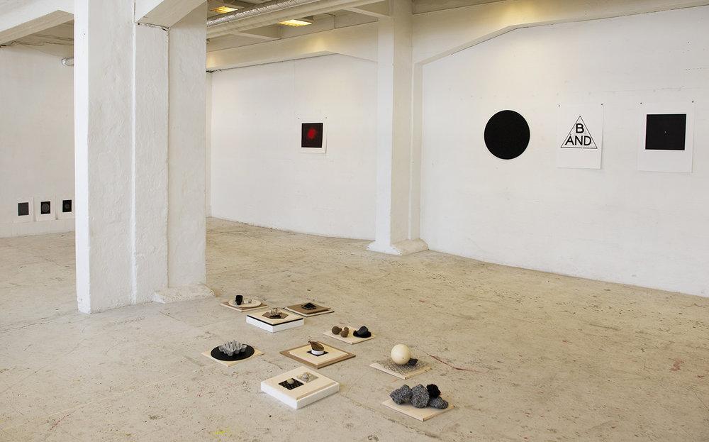Mette Borup Kristensen. Installation view, Staldgade 74.