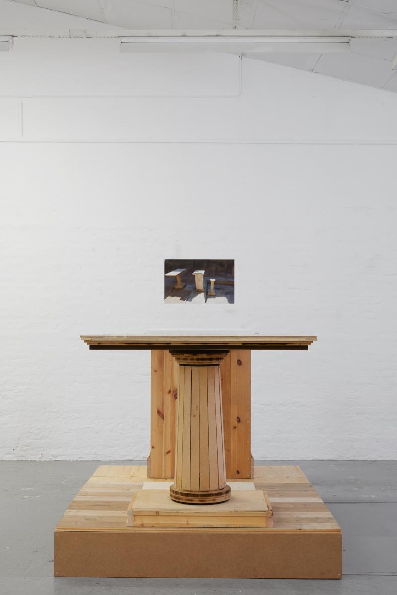 "Jytte Høy ""Efter Pompei (genbrugs Pompei),"" 2018. Photo: Morten K. Jacobsen."