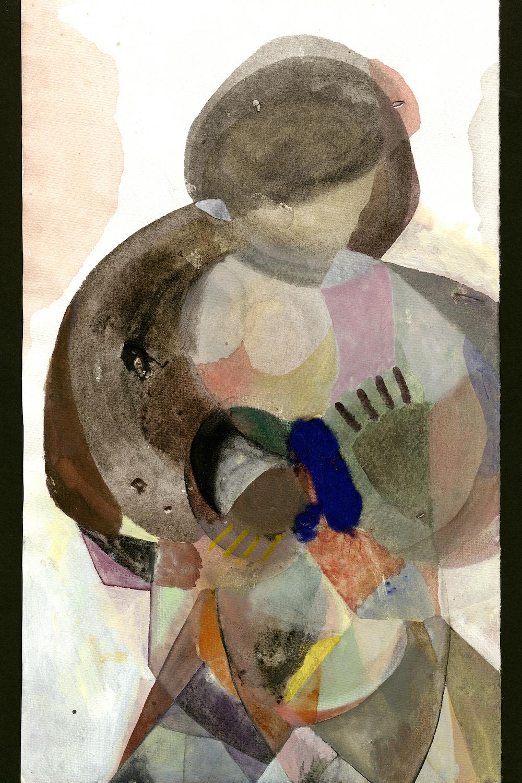 """Camilla Rasborg """"Uden titel (plakat),"""" 2018 (120 x 80 cm, print). Foto: Camilla Rasborg."""