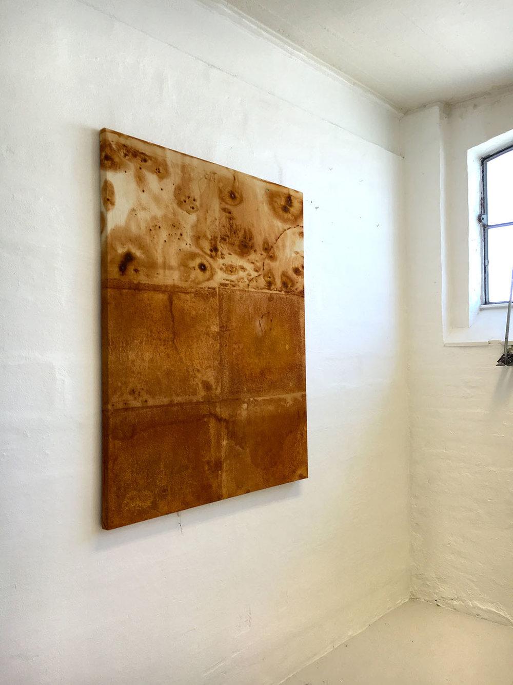 Kristian Jon Larsen, Rust1, 120 x 140 cm, 2016.