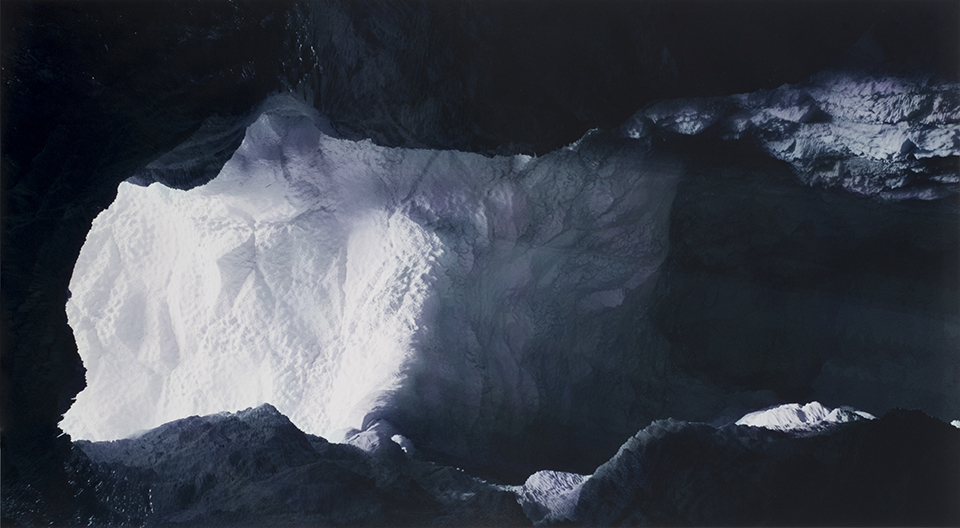 Keith Cottingham Ice Cave Interior, 2006. Digitally constructed 3D model. Courtesy the artist and Ronald Feldman Gallery, New York.