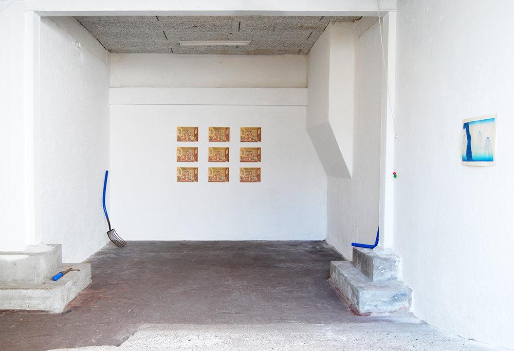 Oscar Yran, Synthetic Horizon. Installation view. Photo: Oscar Yran.