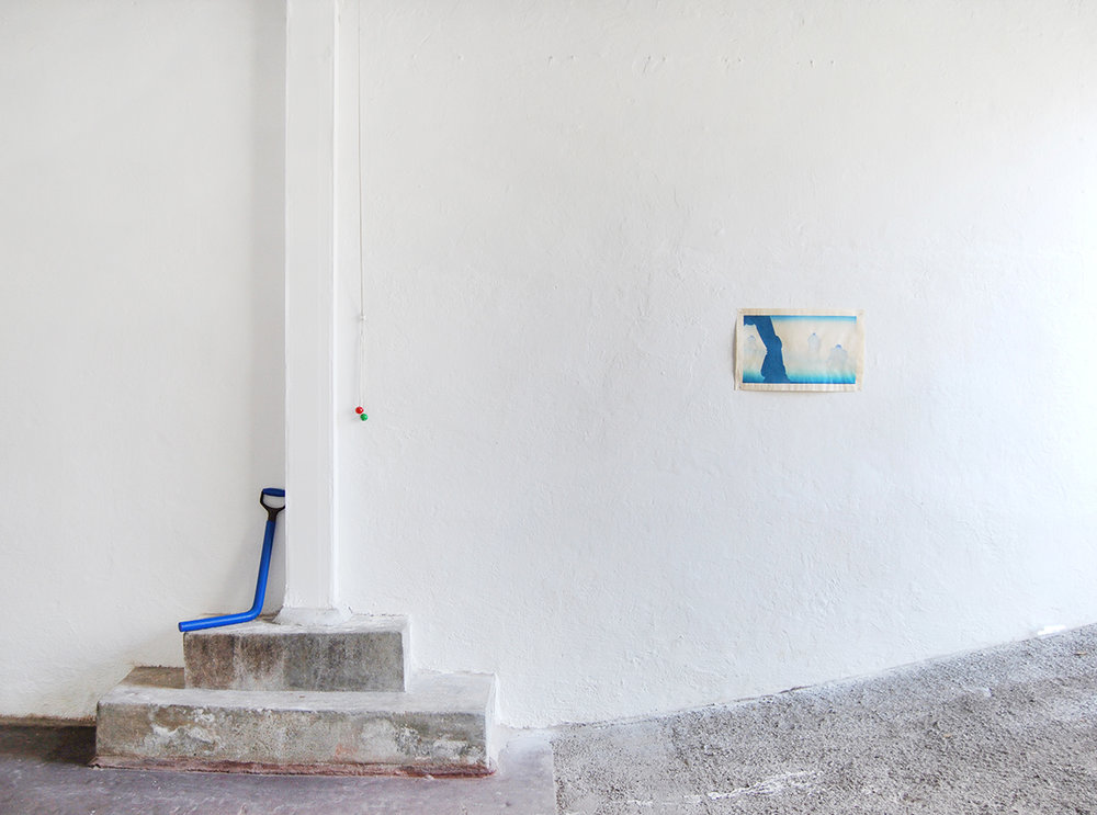 Oscar Yran, Aizuri – e, 2018 (Woodblock Print). Photo: Oscar Yran.