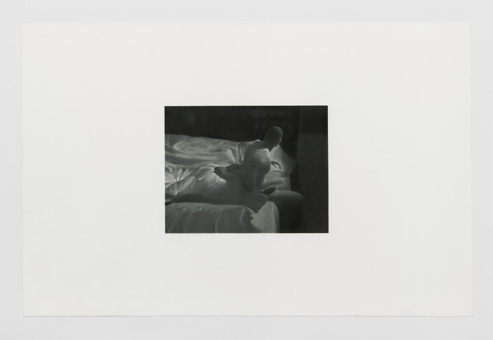 Andreas Albrectsen: Untitled (2018-5-9.2.30 PM), 2018. Graphite, carbon on cotton paper, 36 x 55 cm.
