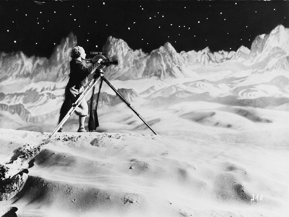 Fritz Lang: Frau im Mond, 1929. Foto: Horst von Harbou / Deutsche Kinemathek.
