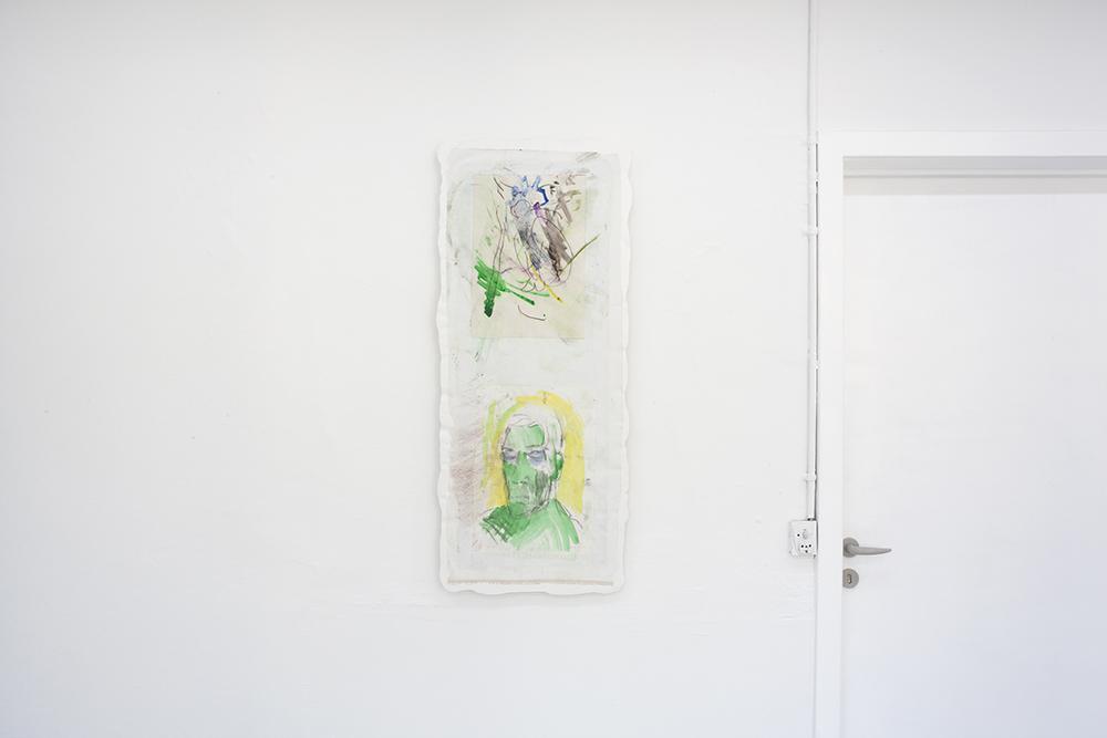 Magnus Frederik Clausen (ft. Marianne Hesselbjerg), World, go fuck yourself. Installation view.