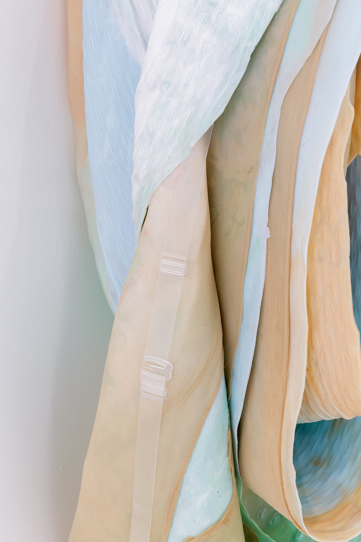 Leah Carless. Detail. Soft Cover (blushing) 2018. Photo: Tim Bowditch.