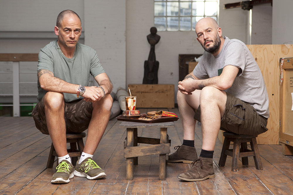 Jake & Dinos Chapman. Photo: Nic Serpell-Rand.