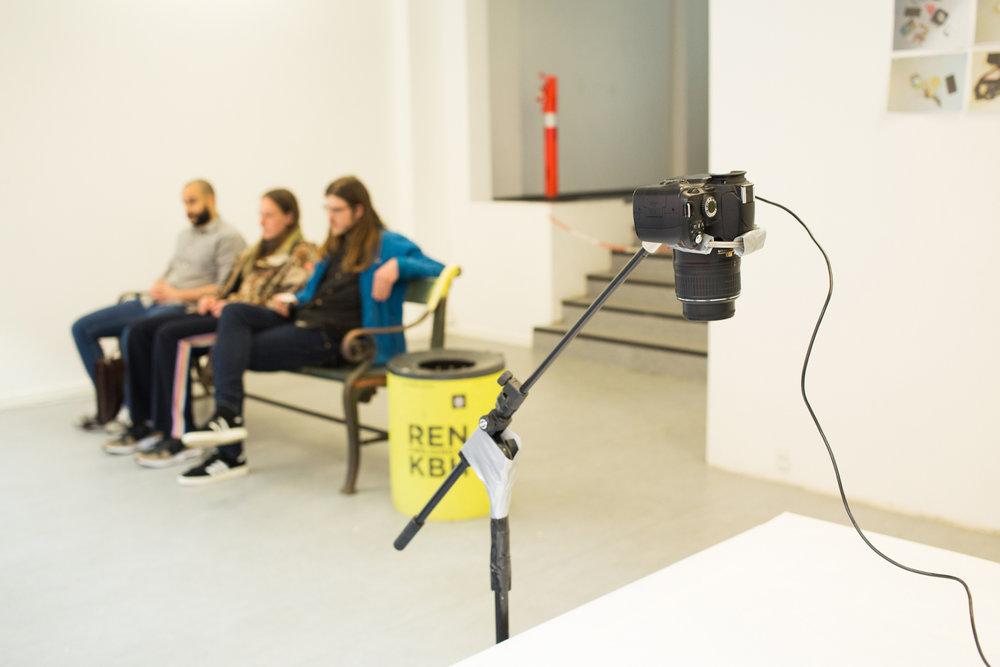 EC1 24H Day #19: Danilo Milovanovic curated by Paola Paleari. Photo Giulia Mangione.
