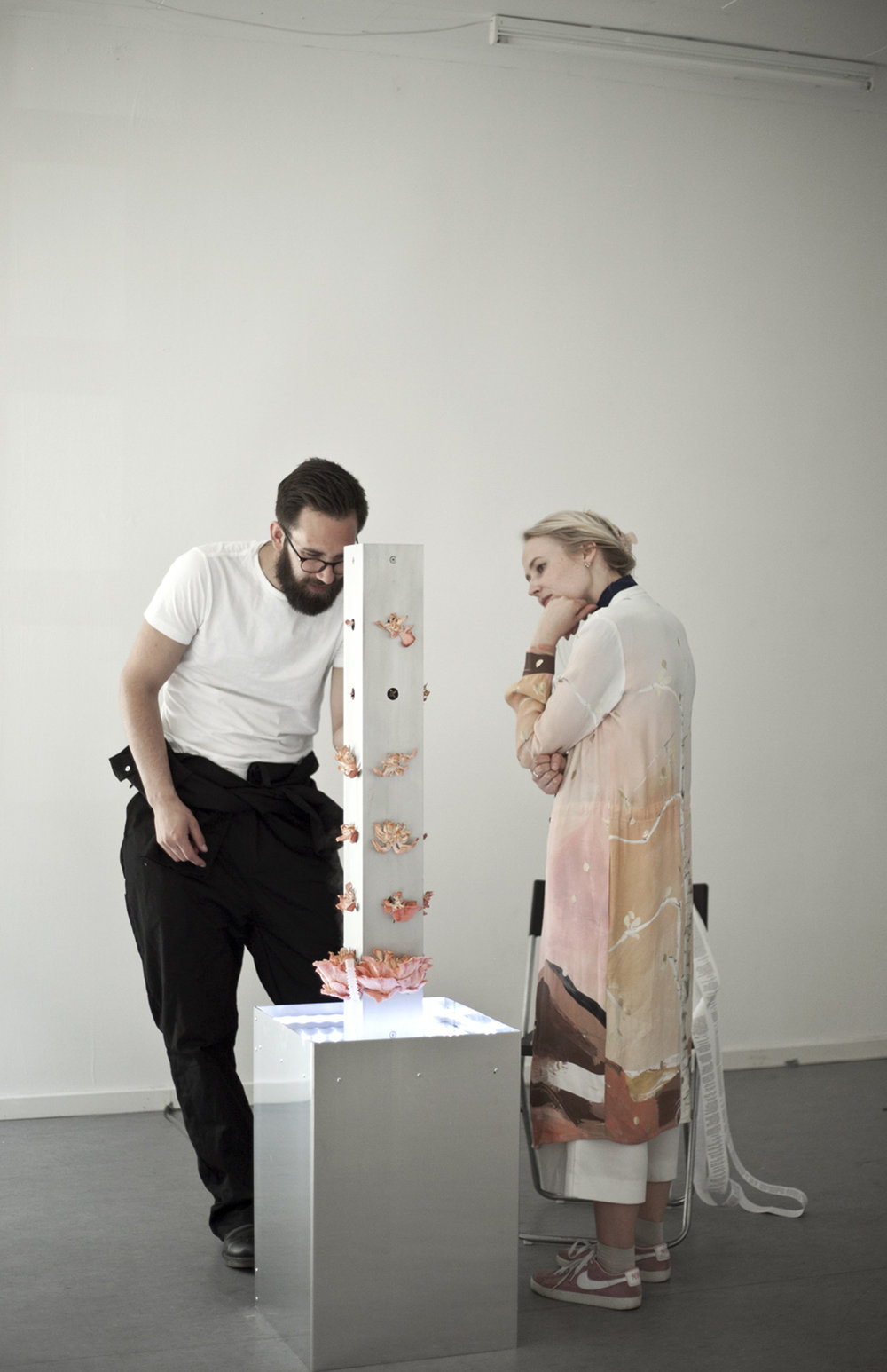 EC1 24H Day #6: Oskar Koliander curated by Anne Julie Arnfred. Photo Pete Lamberto.