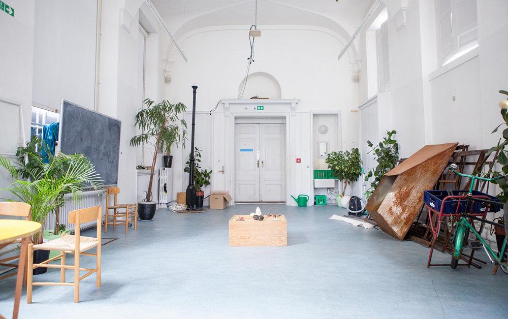Det Kgl. Danske Kunstakademi, Mur og Rum. Foto: Kuntakademiet.dk