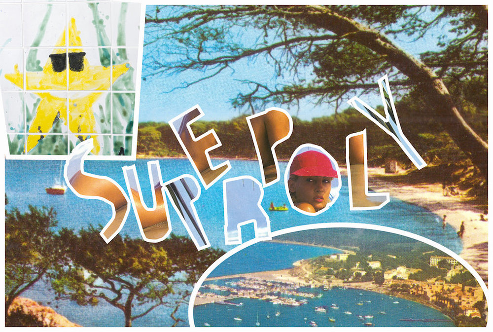 "Superpoly ""Postcard from Superpoly."" Photo © Etage Projects."