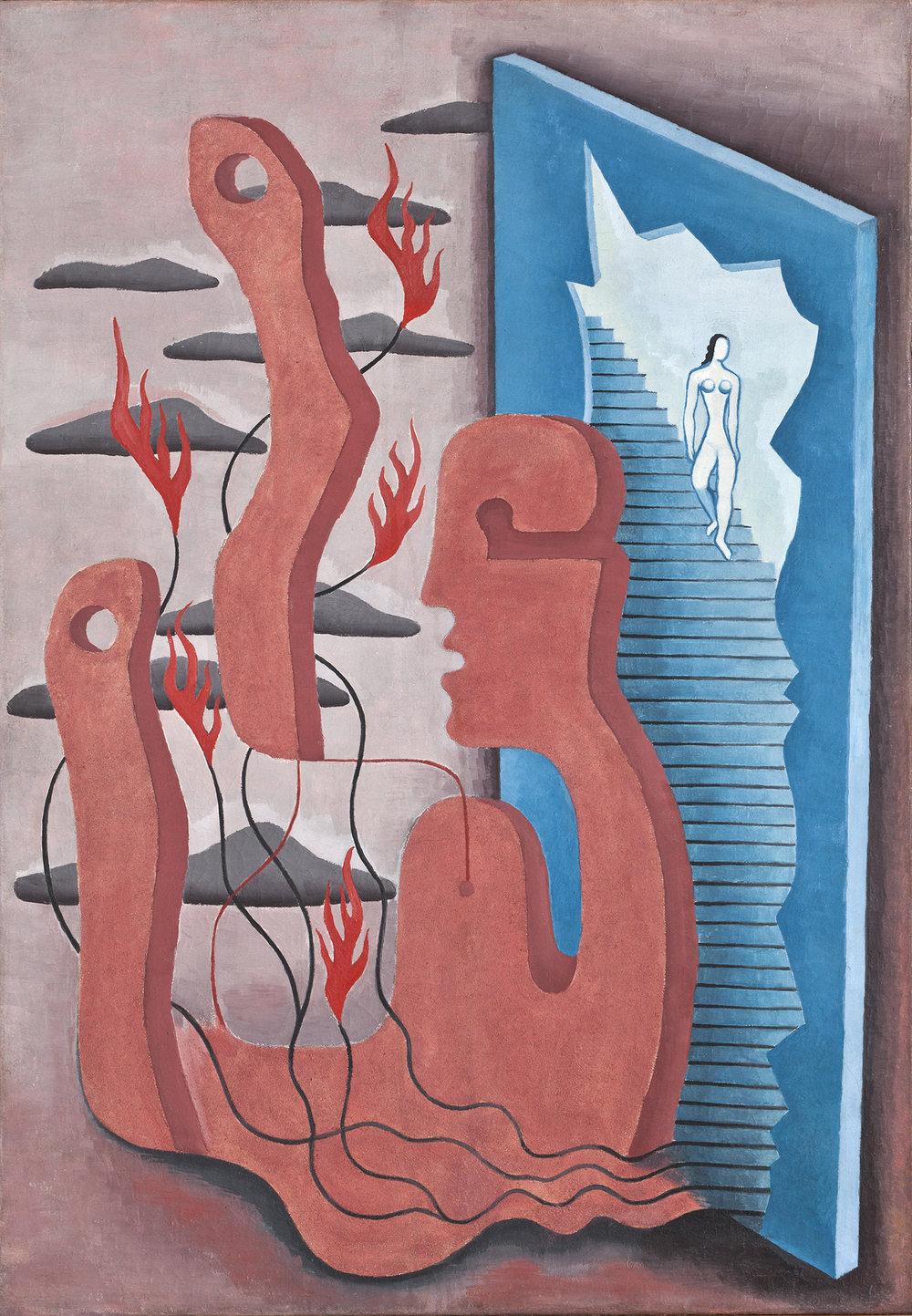 Rita Kernn Larsen, Spejlets revers, 1937. Museet i Sønderjylland.