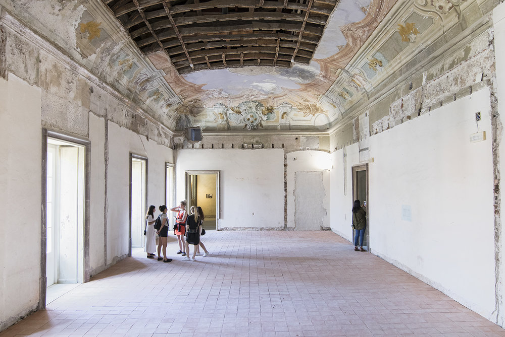 Palazzo Butera (Renato Leotta, Giardino) Manifesta 12. Foto © I DO ART Agency.