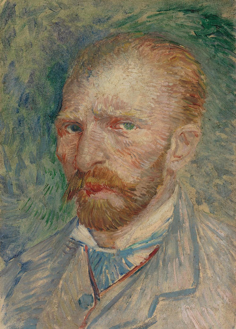 Vincent van Gogh, Selvportræt, 1887. Coll. Kröller-Müller Museum, Otterlo.