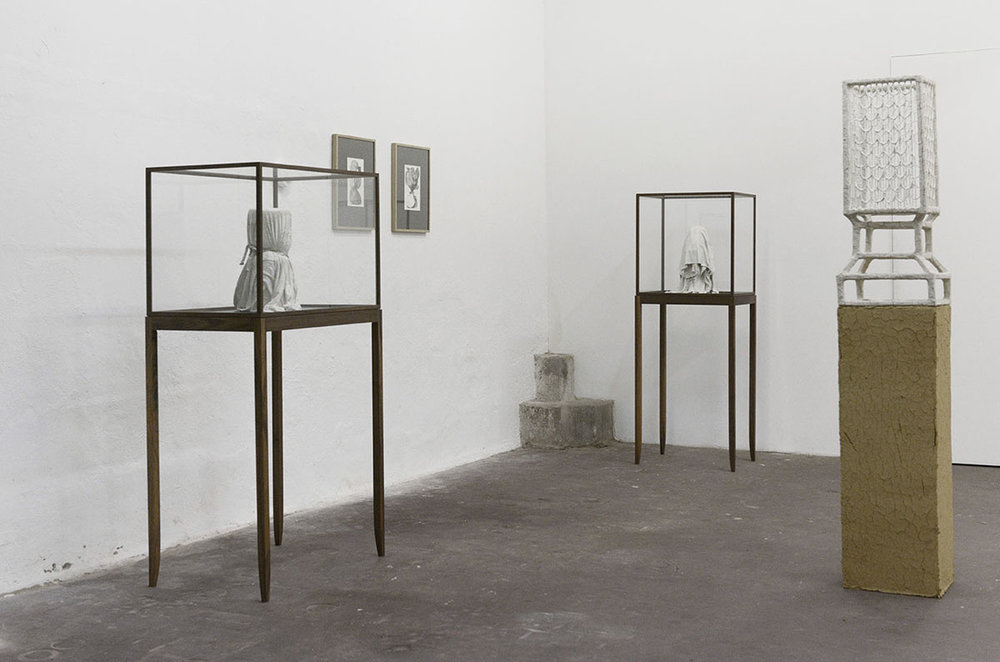 """""""The whims of the eyelid"""" (installation view). Photo: Valérie Collart."""