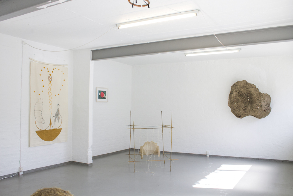"""Fundament"" (Installation view). Photo: Heidi Nikolaisen"