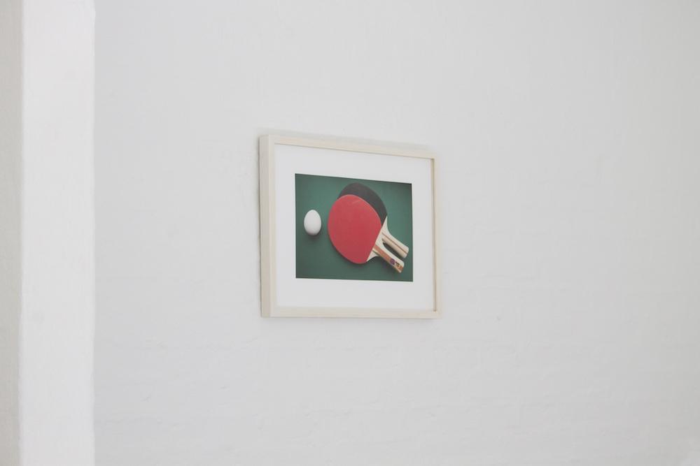 "Sofia Olsson ""Ping Pong"" (Inkjetprint). Photo: Heidi Nikolaisen."