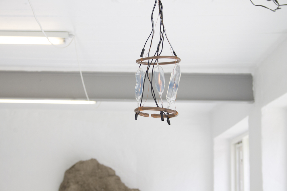 "Svend Bager ""Hand Made Light Not Fitting Standardised Grid"" (Incandescent light bulb). Photo: Heidi Nikolaisen."
