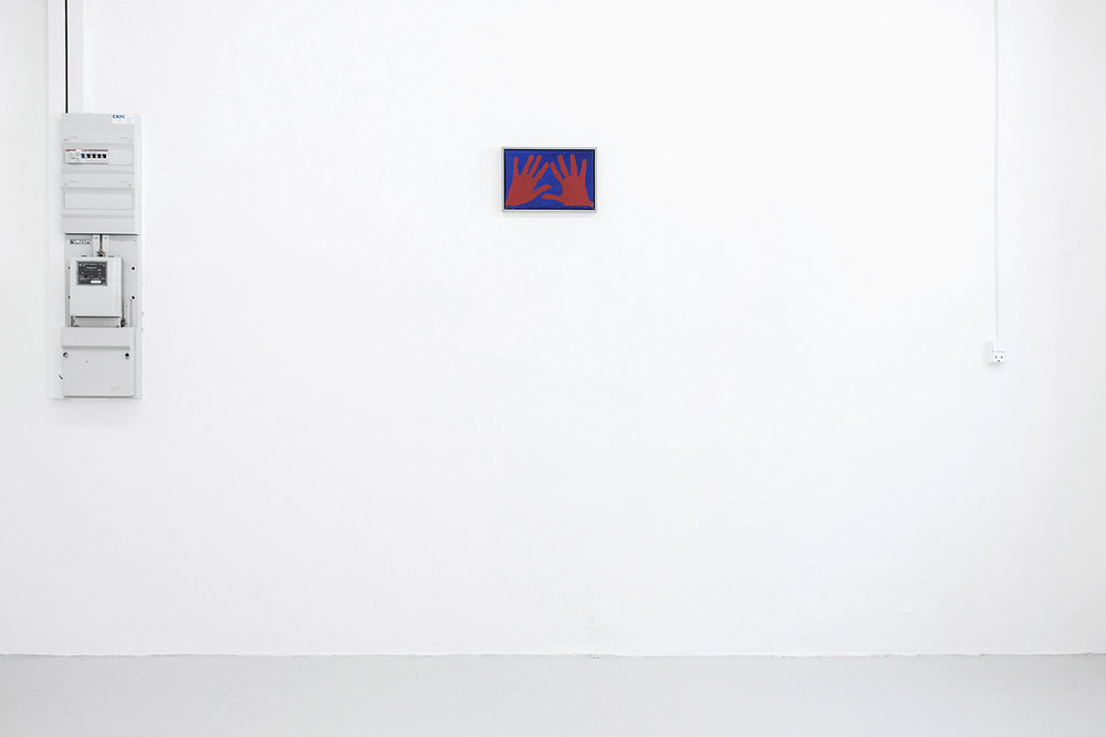 Albert Mertz. Adobe (installation view) Foto: Mia Line.
