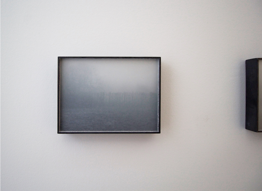 "Katsuhito Nishikawa ""Ridge IMG 6295,� 2008/15 (photography, ground glass, lead, 18,5x25x3 cm). Photo: Karin Lind."