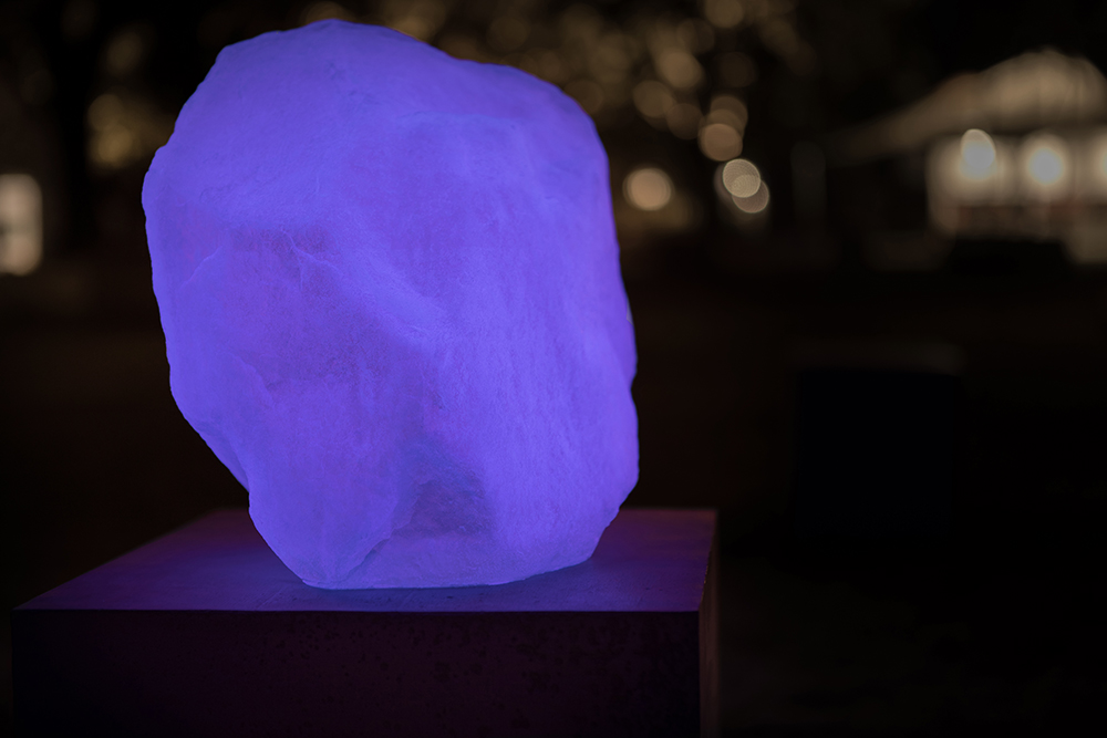 Nat Bloch Gregersen, Stone VII (Synthetic Collection, 2018). Photo: Silas Emmery.