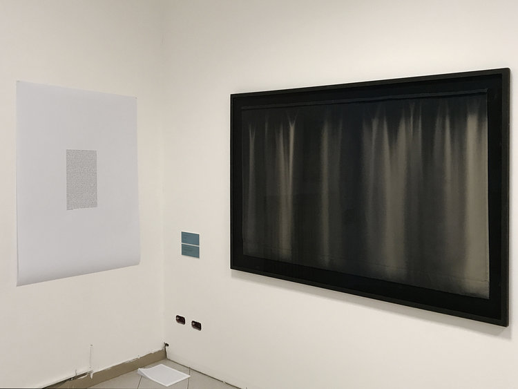 "Camilla Rasborg ""Passage"" & ""Blackout curtain."" Foto: Sonja Lillebæk Christensen."