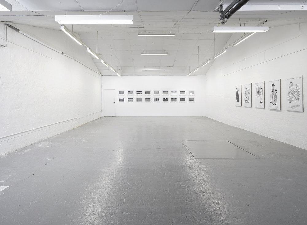 "Christian Vind & Lasse Krog Møller ""Appropriation"" (installationsview). Foto: Morten K. Jacobsen."