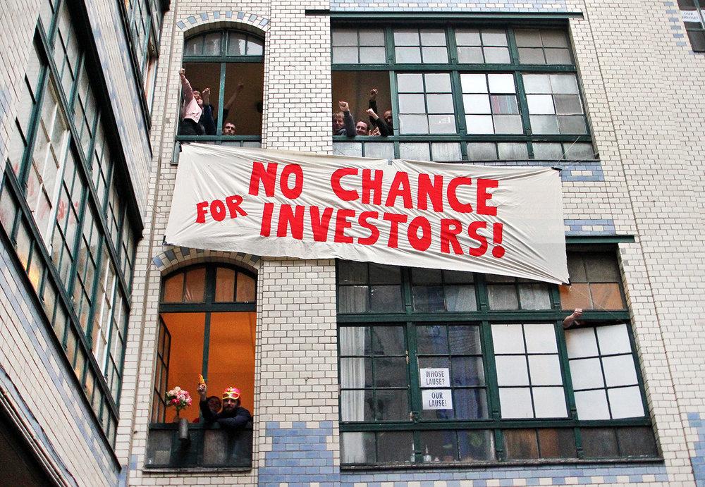 No chance for investors! Foto: Lause Bleibt.