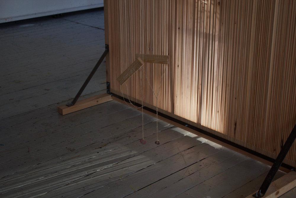 Johna Hansen og Yuko Yokota, R/LOOM (Detalje, Statens Værksteder for Kunst).