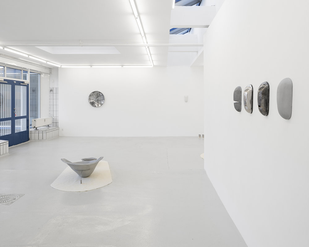 "Christine Overvad Hansen ""Punch Bowl Portal,� 2018 (installation view). Photo: David Stjernholm."