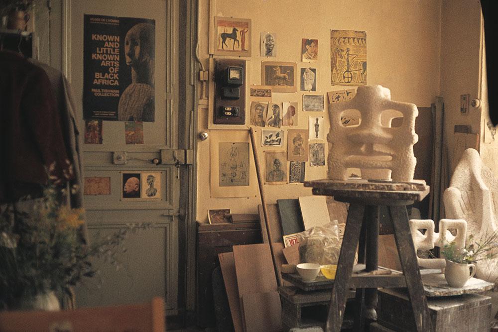 Sonja Ferlov Mancobas atelier. Foto © Lena Jacobsson.