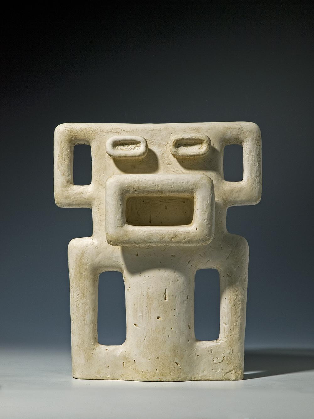 Sonja Ferlov Mancoba, Maske (eller 'Krigens Udbrud'), 1939. Museum Jorn.