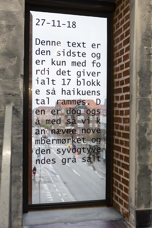 Frederik Stjernfelt, tekst (2018). Foto: Niels Fabæk.