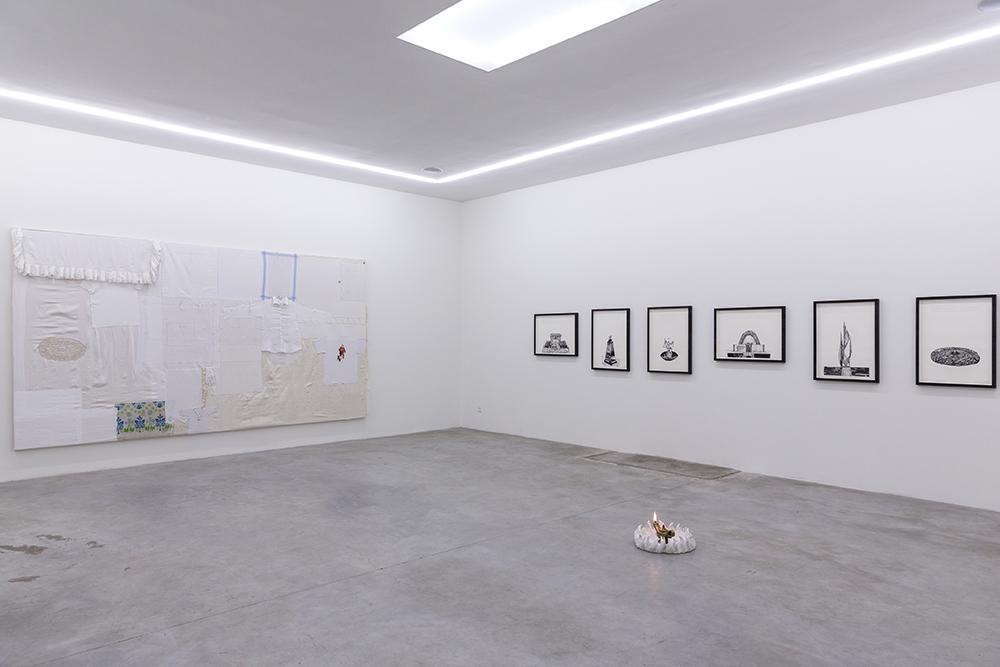 Hesselholdt & Mejlvang, Installation view. Photo by Lior Zilberstein.