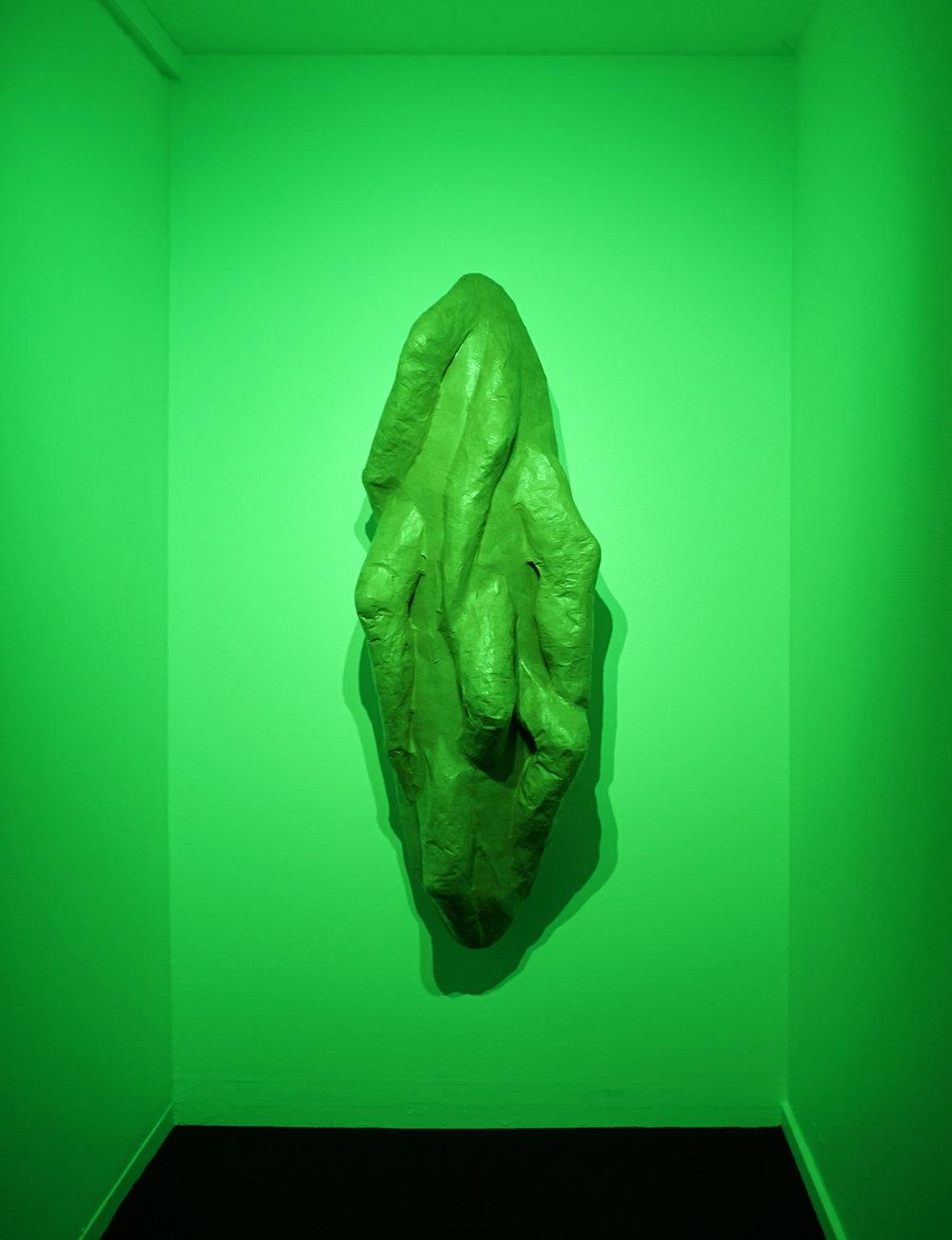 "Kristian Byskov ""Ind i det ambivalente selv,"" 2018 (skulptur). Foto: Margarita del Carmen."